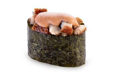 Спайси гункан с угрем